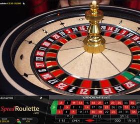 Speed Roulette ou la roulette en ligne la plus rapide du Net