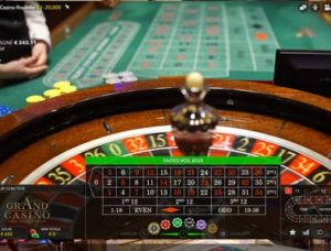 Roulette en direct du Grand Casino de Bucarest en Roumanie
