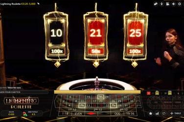 Lightning Roulette est la roulette en ligne #1 Evolution Gaming