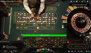 Roulettes Evolution Gaming en direct live de vrais casinos