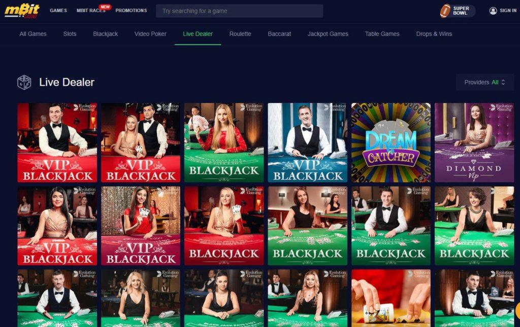 mBit Casino bitcoin