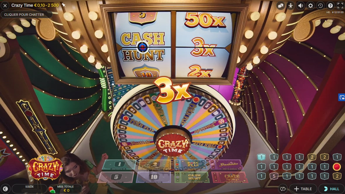 Cash Hunt, un Bonus Sur Le Jeu Live Crazy Time