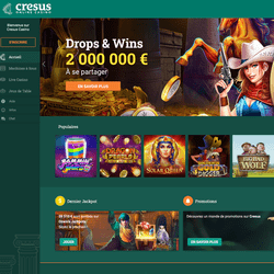 Les 5 raisons de jouer sur Cresus Casino