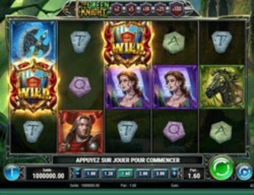 Jouer à la slot en ligne The Green Knight sur Cresus Casino
