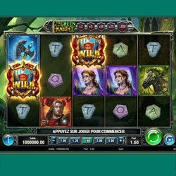 Savez vous que la slot en ligne The Green Knight de Play'n GO est dispo sur Cresus Casino