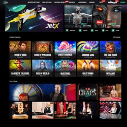 jeux de casino disponibles sur Cbet