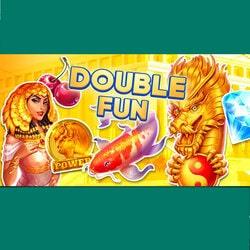 Crésus Casino organise Double Fun qui est un tournoi de machines a sous