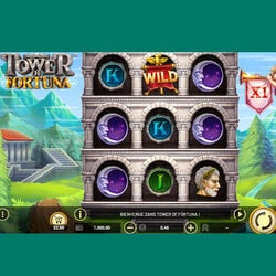 la machine à sous gratuite Tower of Fortuna est disponible sur Cresus Casino